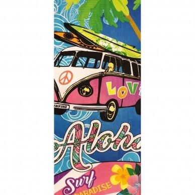"""Paplūdimio rankšluostis """"Aloha Bus"""", 86x170 cm"""