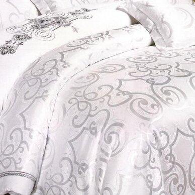 """Patalynės komplektas """"Balta Nuotaka"""", 6 dalių, 200x220 cm 3"""