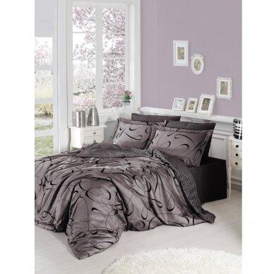"""Patalynės komplektas """"Calisto Lilac"""", 6 dalių, 200x220 cm 2"""