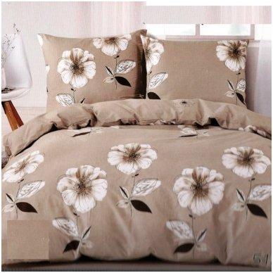 """Patalynės komplektas """"Dykumų gėlės"""", 4 dalių, 200x220 cm"""