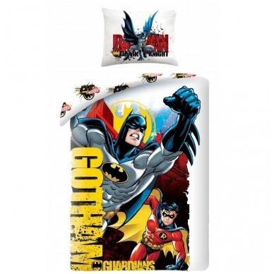 "Patalynės komplektas ""Batman"", 2 dalių, 140x200 cm"
