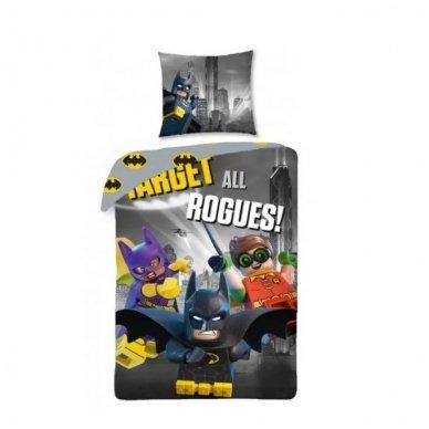 "Patalynės komplektas ""Lego Batman"", 2 dalių, 140x200 cm"