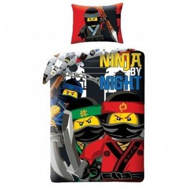 "Patalynės komplektas ""Lego Ninjago"", 2 dalių, 140x200 cm"