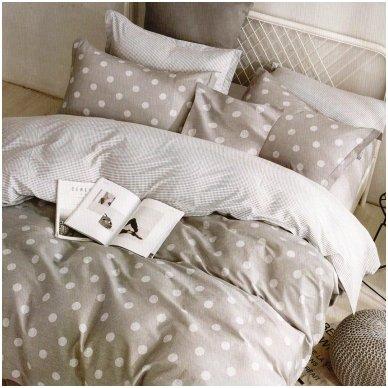 """Patalynės komplektas """"Klasikinis miegas, 4 dalių, 200x220 cm"""