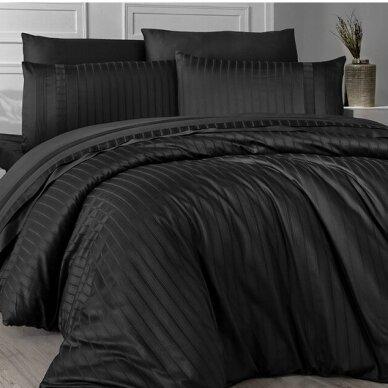 """Patalynės komplektas """"New Trend Black"""", 6 dalių, 200x220 cm"""