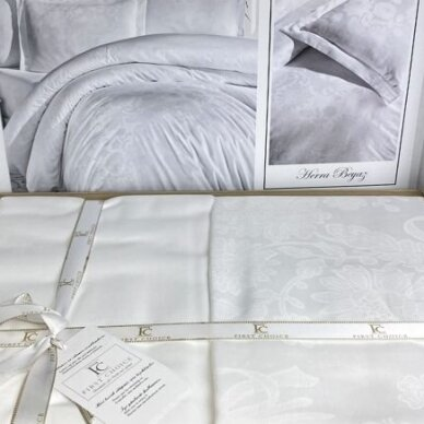 "Patalynės komplektas ""Herra Beyaz"", 6 dalių, 200x220 cm 4"