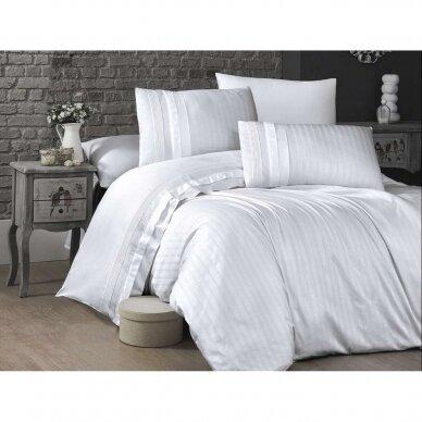 """Patalynės komplektas """"New Trend White"""", 6 dalių, 200x220 cm 3"""