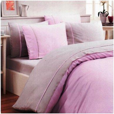 """Patalynės komplektas """"Violetinė pastelė"""", 6 dalių, 200x220 cm"""