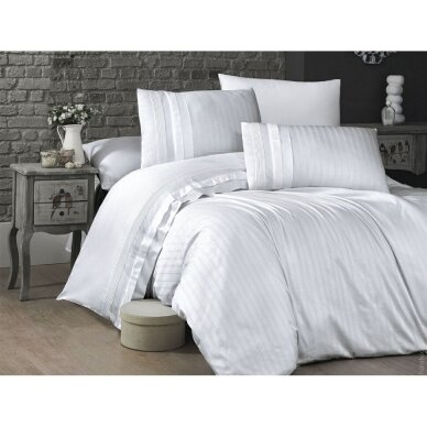 """Patalynės komplektas """"New Trend Beyaz"""", 6 dalių, 200x220 cm 4"""