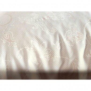 """Patalynės komplektas """"Carmina Beyaz White"""", 6 dalių, 200x220 cm 2"""