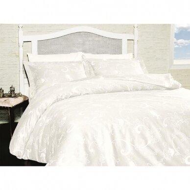 """Patalynės komplektas """"Carmina Beyaz White"""", 6 dalių, 200x220 cm 6"""