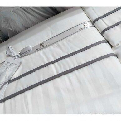 """Patalynės komplektas """"Stripe Style Beyaz"""", 6 dalių, 200x220 cm 3"""