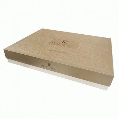 """Patalynės komplektas """"Stripe Style Beyaz"""", 6 dalių, 200x220 cm 4"""
