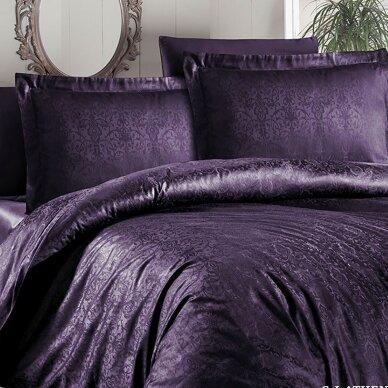 """Patalynės komplektas """"Athena Mor"""" (violetinė), 6 dalių, 200x220 cm"""