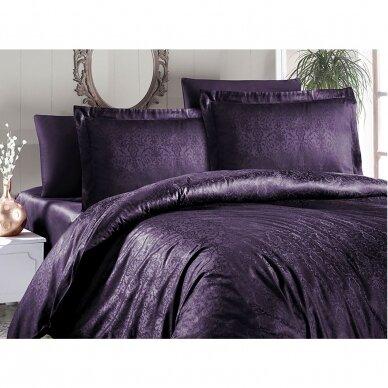 """Patalynės komplektas """"Athena Mor"""" (violetinė), 6 dalių, 200x220 cm 5"""