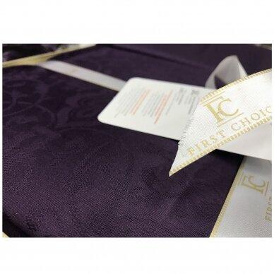 """Patalynės komplektas """"Athena Mor"""" (violetinė), 6 dalių, 200x220 cm 4"""