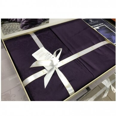 """Patalynės komplektas """"Athena Mor"""" (violetinė), 6 dalių, 200x220 cm 3"""
