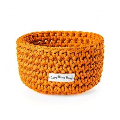 """Pintas krepšys """"Vidutinis Oranžiukas"""" 9x15 cm"""