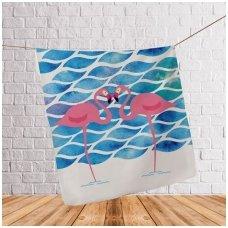 "Pledas ""Flamingai Jūroje"""