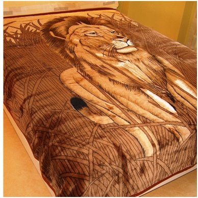 """Pledas """"Liūtas"""", 160x210 cm"""