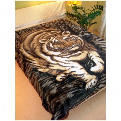 """Pledas """"Tigras"""", 160x210 cm 2"""