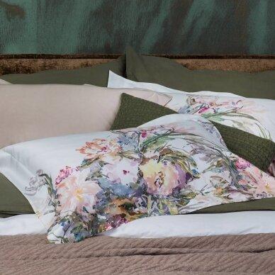 """PREMIUM satino pagalvės užvalkaliukas """"Floral Sense"""" 50x70 cm"""