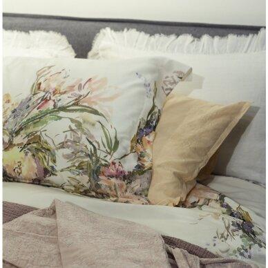 """PREMIUM satino pagalvės užvalkaliukas """"Floral Sense"""" 50x70 cm 2"""