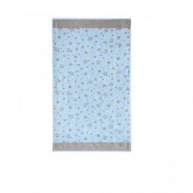 """Bambukinis rankšluostis """"Žvaigždutės"""", 70x115 cm 3"""