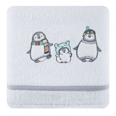 "Rankšluostis ""Pingvinai"", 70x140 cm 2"