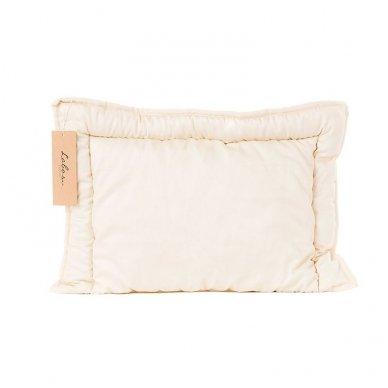 Rankų darbo pagalvė vaikui su 100% avių vilnos užpildu, 40x60