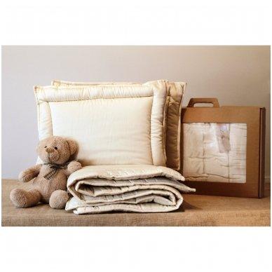 Rankų darbo pagalvė vaikui su 100% avių vilnos užpildu, 40x60 5