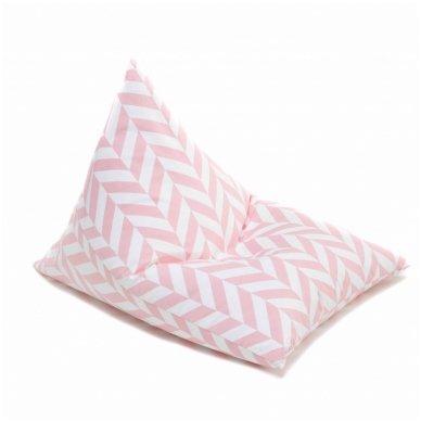 "Sėdmaišis ""Triangle Tropical Pink"""