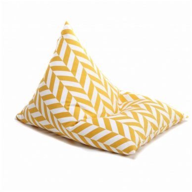 """Sėdmaišis """"Triangle Tropical Yellow"""""""