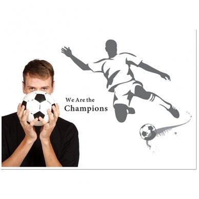 """Sienos lipdukas """"Futbolo Aistruolis"""", 110x120 cm 3"""