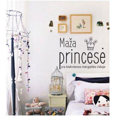 """Sienos lipdukas """"Maža Princesė"""" 3"""