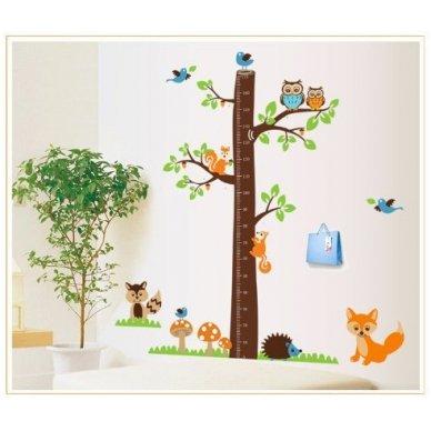 """Sienos lipdukas """"Ūgio Medis"""", 85x180 cm 4"""
