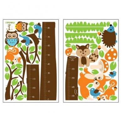 """Sienos lipdukas """"Ūgio Medis"""", 85x180 cm 3"""