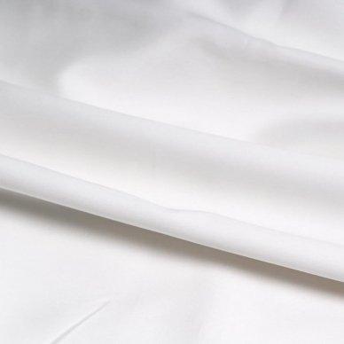 """Siuvamas dvipusis Premium satino patalynės komplektas """"Rose White"""" 2"""