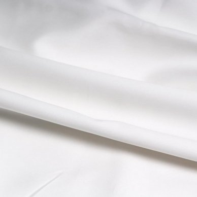 """Siuvamas Premium satino patalynės komplektas """"White"""" 3"""
