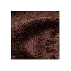 Šukuotinės medvilnės rankšluostis (Tamsiai Ruda)