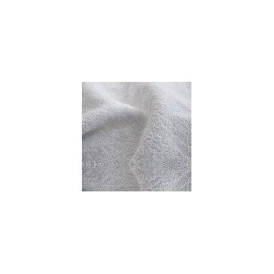 Šukuotinės medvilnės rankšluostis (Balta)