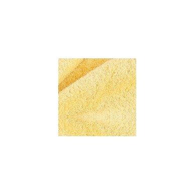 Šukuotinės medvilnės rankšluostis (Geltona)