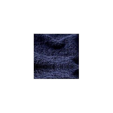 Šukuotinės medvilnės rankšluostis (Mėlyna)