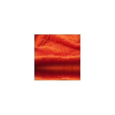 Šukuotinės medvilnės rankšluostis (Oranžinė)