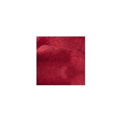 Šukuotinės medvilnės rankšluostis (Raudona)
