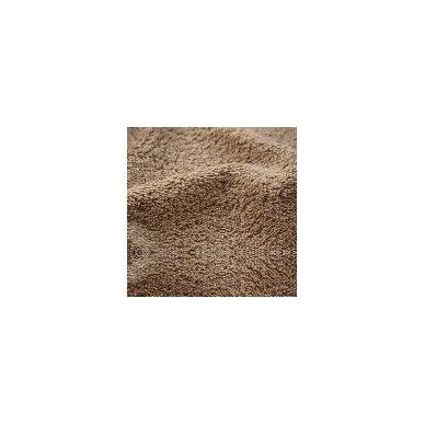 Šukuotinės medvilnės rankšluostis (Ruda) 3
