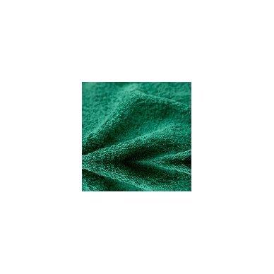 Šukuotinės medvilnės rankšluostis (Žalia)