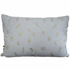 Trijų skyrių žąsų-ančių pūkų pagalvė, 50x70 cm