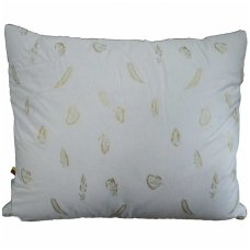 Trijų skyrių žąsų-ančių pūkų pagalvė, 60x60 cm