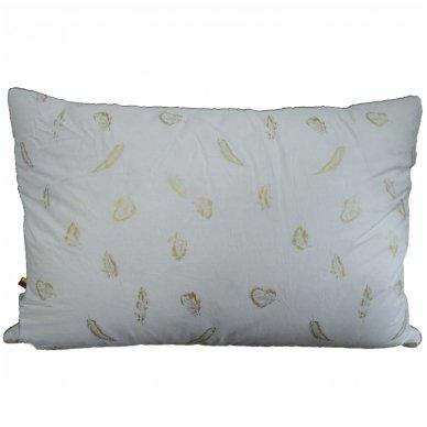 Trijų skyrių žąsų-ančių pūkų pagalvė, 50x70 cm 2